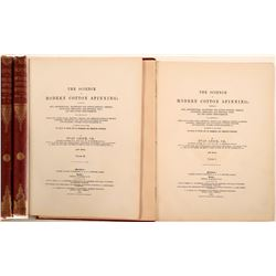 "Books / "" The Science of  Modern Cotton Spinning"" / 2 Items  #109674"