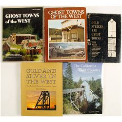 Gold Rush and Ghost Town Hardcovers (5)  #63142
