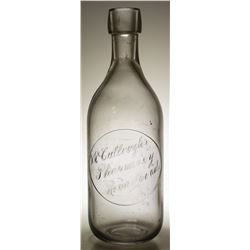 Mc Cullough Pharmacy Citrate  Bottle  #59216