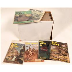 Old West Magazines - 1 Box  #108413