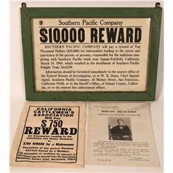 Reward Poster Group  #110729