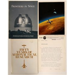 Space Exploration & Aeronatautical Research / 3 Items.   #109726