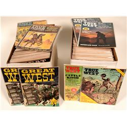 True West, Great West, and True Frontier Magazines - 2 boxes  #108408