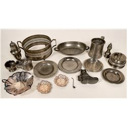 Amazing Antique Pewter Collection  #109765