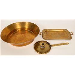Antique Brass Items  #109768