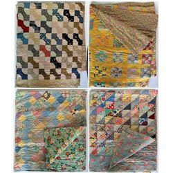 Four Vintage Quilts  #109348