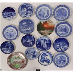 Group of Blue & White Collector Plates- Various   #110259