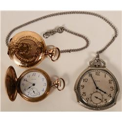 Antique Pocket Watches (2)  #110651