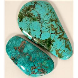 Turquoise Cabochons (2)  #109181