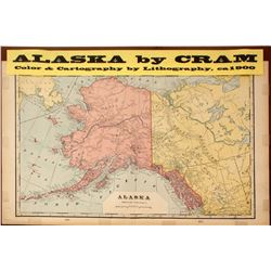 Map of Alaska by Cram  #59304