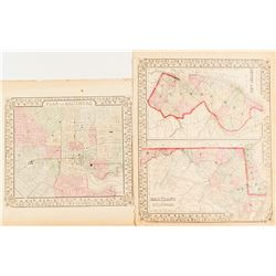 Maps of Maryland & Baltimore  #54228