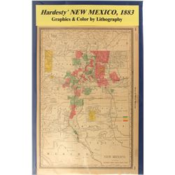 Map of New Mexico  #59350