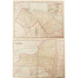Maps of New York & New Jersey  #54225