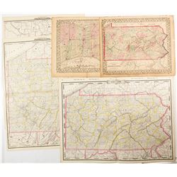 Maps of Pennsylvania (5)  #54250
