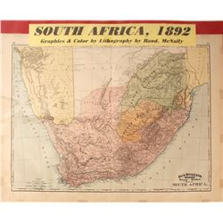 Map of South Africa  #59624