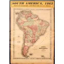 Map of South America  #59631