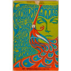 Iconic Psychedelic Rock Postcard Group with Fillmore Auditorium Rarities! (6)  #110510