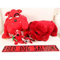 Red Dog Saloon Ephemera  #108257
