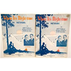 Nevada Sheet Music  #76939