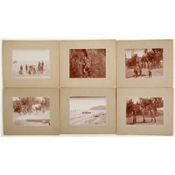 Mounted Lake Tahoe Photographs of Family Vacation  #58306