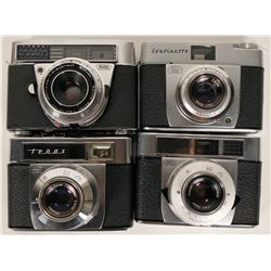 Zeiss & Kodak 35mm Cameras, Near-Mint Condition  #109809