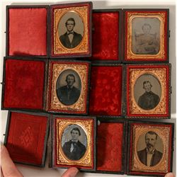 1860's (?) Cased Portraits  #91178