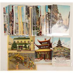 China Town, San Francisco Chromolitho's  #102775