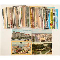 Long Beach, CA Town Postcards  #103295