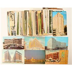 Los Angeles, CA Hotel Postcard Collection  #103290