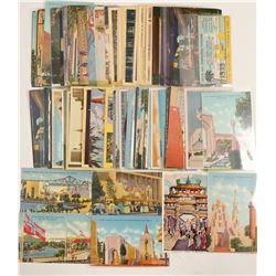 Golden Gate Expo Postcard Collection  #103331