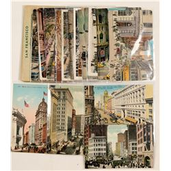 San Francisco Main Business District, RPC's & Chromolitho's  #102782