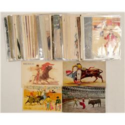 Bull Fighting Post Cards RPC's & Chromolitho's  #102799