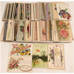 Flower Greeting Cards (Aprox 200)  #104990