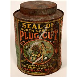 Seal of North Carolina Plug Cut Tobacco Tin  #108523