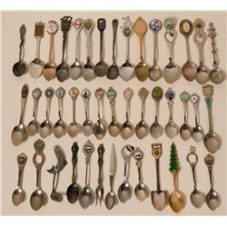 Souvenir Spoon Collection  #110663