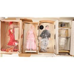 Four Celebrity Dolls   #103381