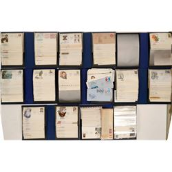 First Day Cover Collection in Eight Nice Slipcases  #110296