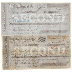 Two Wells Fargo Second of Exchanges  #102272