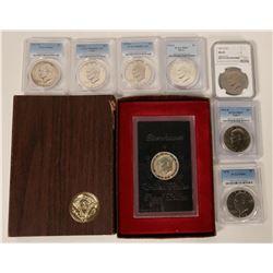 Eisenhower Dollar Collection  #110664