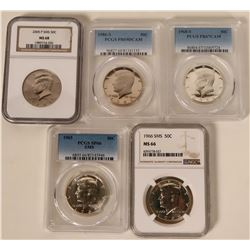 Kennedy Half Dollar Collection  #110665