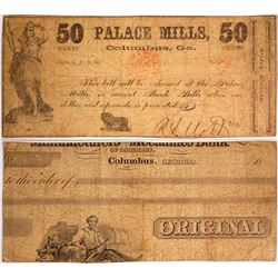 Palace Mills 50 cent Note  #58026