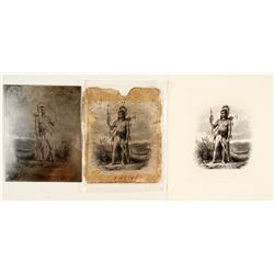 Native American Printers Plate  #76449