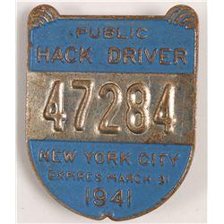 Hack Driver Badge  102822  #102822