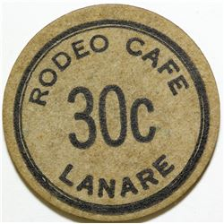 Lanare, Calif., Rodeo Cafe  #82615