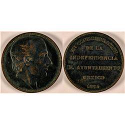 1893 Miguel Hidalgo Bronze Medal  #110964