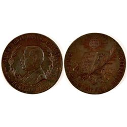 1906 Benito Juarez Centennial Medal  #110963