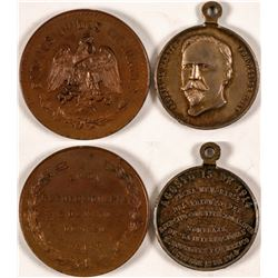 Mexican Political Medals, F. Madero & P. Gonzales Garza  #110975