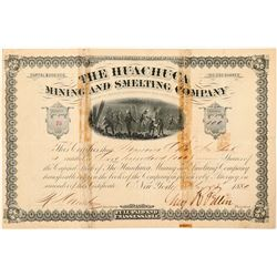 Huachuca Mining & Smelting Co. Stock Certificate  #100910