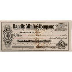 Handly Mining Stock  #106222