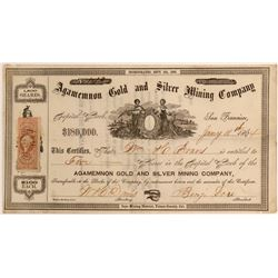 Agamemnon Gold and Silver Mining Co.  #110846